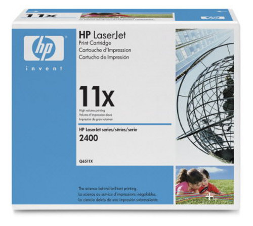 HP Q6511X, Toner noir 12'000 pages