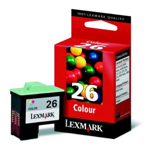 Lexmark No. 26, Cartouche d'encre coloré 275 Pages