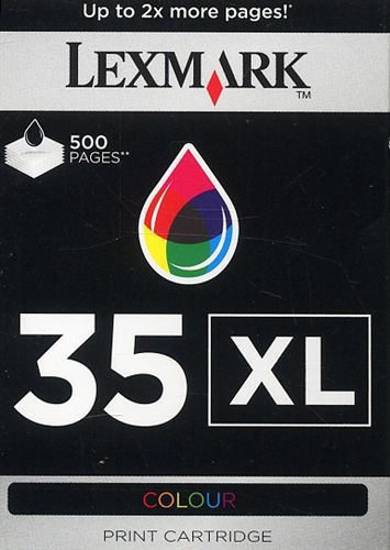 Lexmark No. 35XL, TPA farbig, 500s