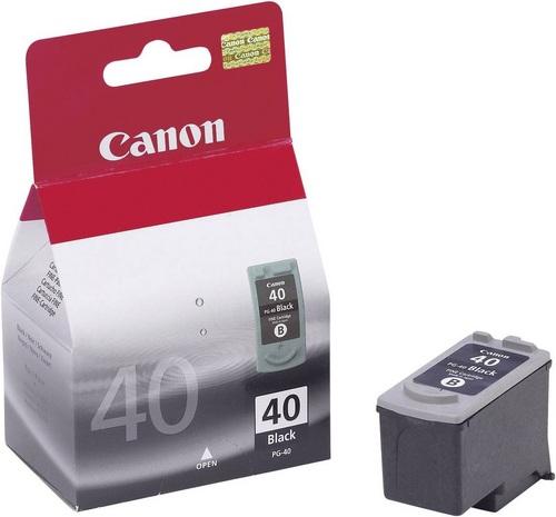 Canon PG 40, Cartuccia d'inchiostro nero pigment
