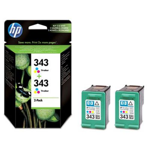 HP No. 343, Multipack Cartucce d'inchiostro color