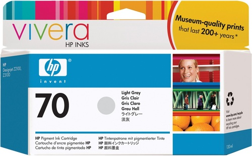 HP Nr. 70, TPA grau light, Vivera Tinte, C9451A