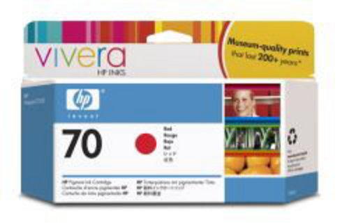 HP Nr. 70, TPA rot, Vivera Tinte, C9456A