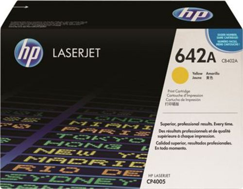 HP CB402A, Toner yellow, 7'500s