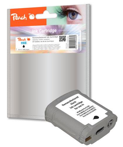 H88 pour HP No. 88 noir Cartouche d'encre compatible