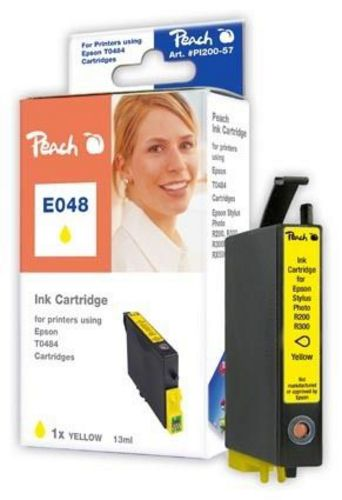 E048 Epson T0484 yellow kompatible Druckpatrone