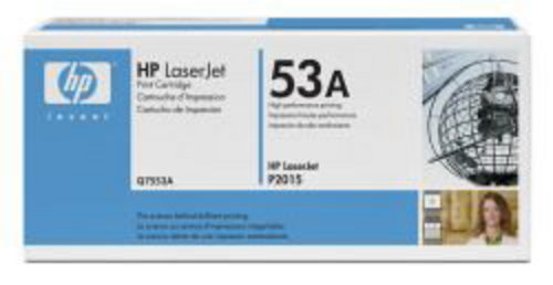 HP Q7553A, Toner noir 3'000 pages