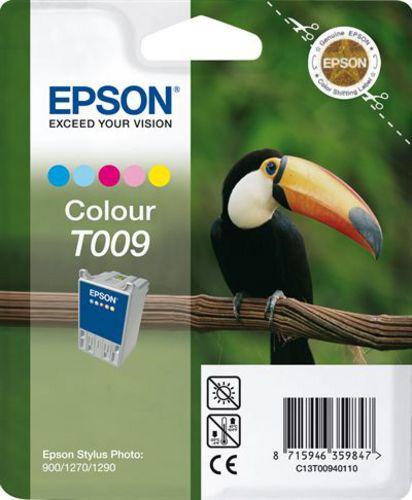Epson T009401, Cartouche d'encre coloré, 66ml (31455) 330 pages