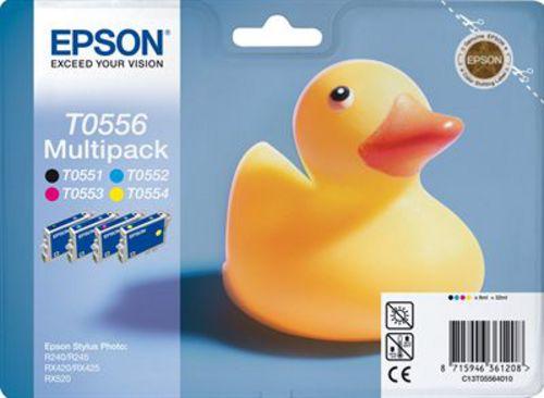 Epson T05564010, Cartuccia d'inchiostro Multipack, 4 x 8 ml color, 290 pagine