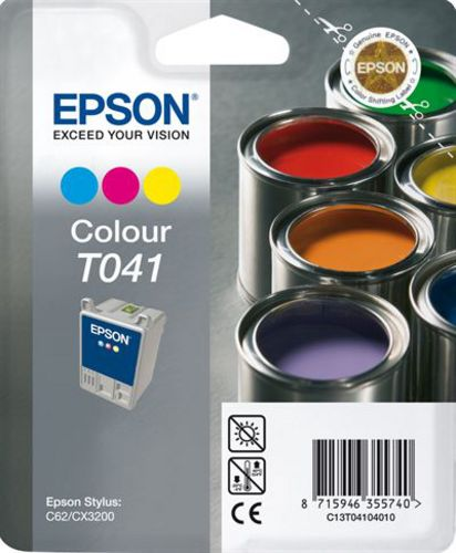 Epson T04104010 Cartuccia d'inchiostro color, 37ml (33187) 300 pagine