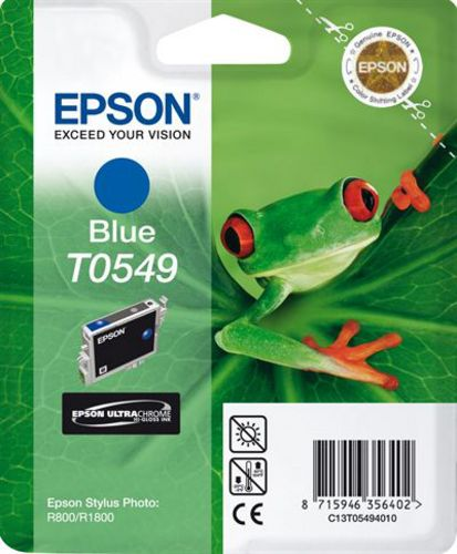 Epson T05494010, Cartuccia d'inchiostro blu, 13 ml