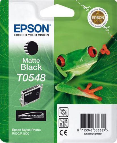 Epson T05484010, Cartuccia d'inchiostro nero mat, 13 ml
