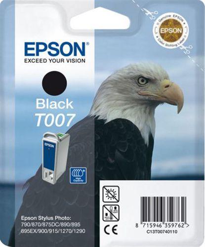 Epson T00740110, Cartuccia d'inchiostro nero, 16ml (31453) 540 pagine