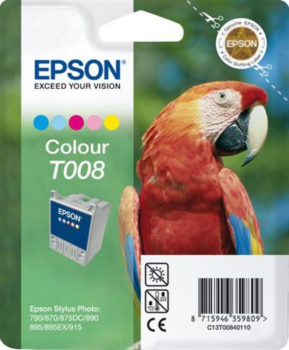 Epson T00840110, Cartuccia d'inchiostro color, 46ml (31454) 200 pagine