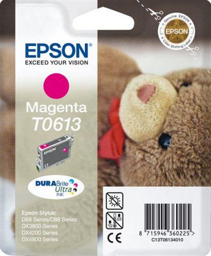 Epson T06134010, Cartuccia d'inchiostro magenta, 8ml, 250 pagine