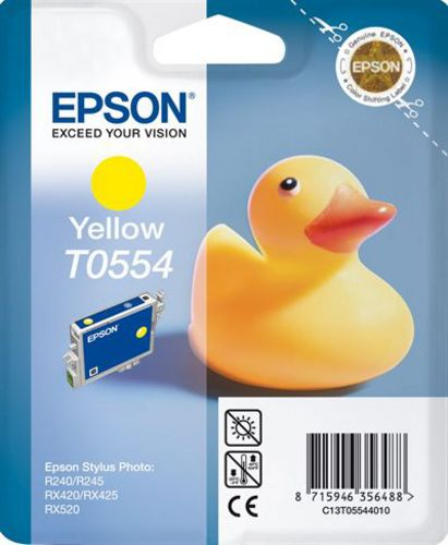 Epson T05544010, Cartuccia d'inchiostro giallo