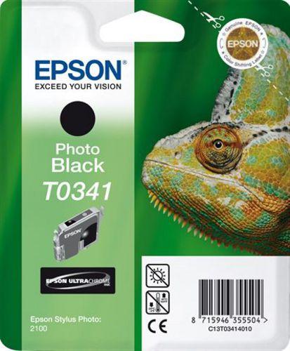 Epson T03414010, Cartuccia d'inchiostro nero, 17ml (33146) 628 pagine
