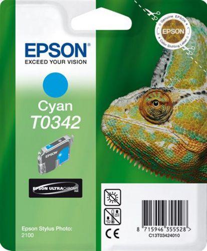 Epson T03424010, TPA cyan, 17ml (33147) 440s