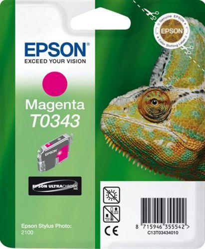 Epson T03434010, Cartuccia d'inchiostro magenta, 17ml (33148) 440 pagine