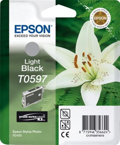 Epson T05974010, TPA light schwarz, 13 ml