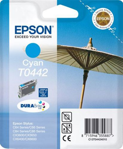 Epson T04424010, TPA cyan 13ml 400s High Capacity
