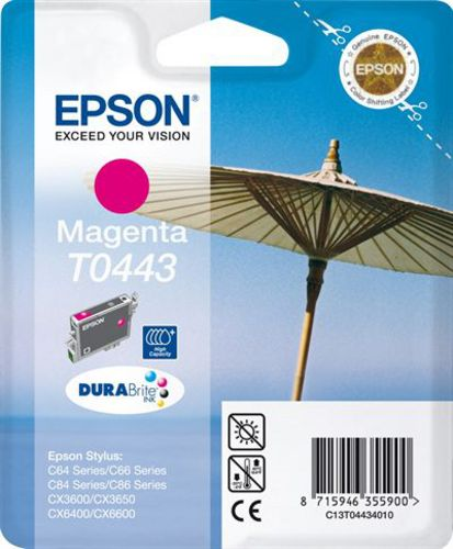 Epson T04434010, TPA magenta, 13ml 400s High Cap.