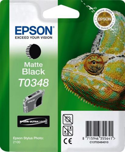 Epson T03484010, Cartuccia d'inchiostro nero mat, (33153) 440 pagine