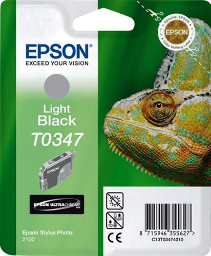 Epson T03474010, TPA light schwarz, 17ml (33152) 440s