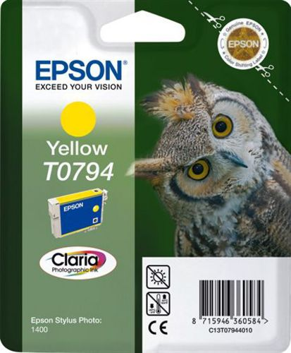 Epson T07944010, TPA yellow, 10ml