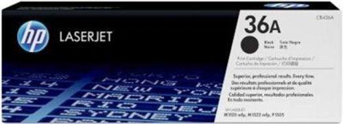 HP CB436A, Toner schwarz, 2'000s