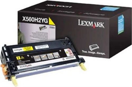 Lexmark X560, Toner jaune High Yield 10'000 pages