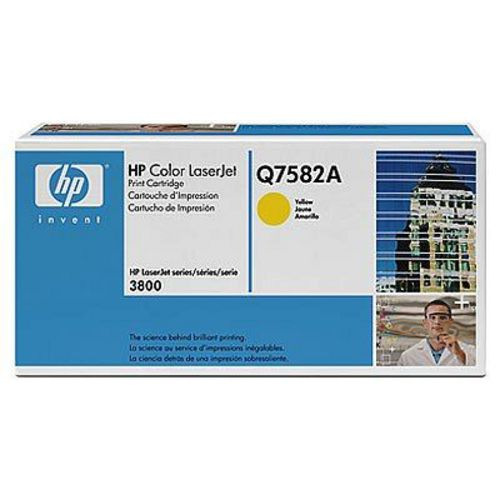 HP Q7582A, Toner yellow, 6'000s