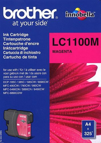 Brother LC1100M, TPA magenta