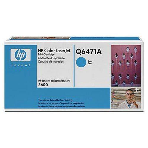 HP Q6471A, Toner cyan, 4'000 pagine