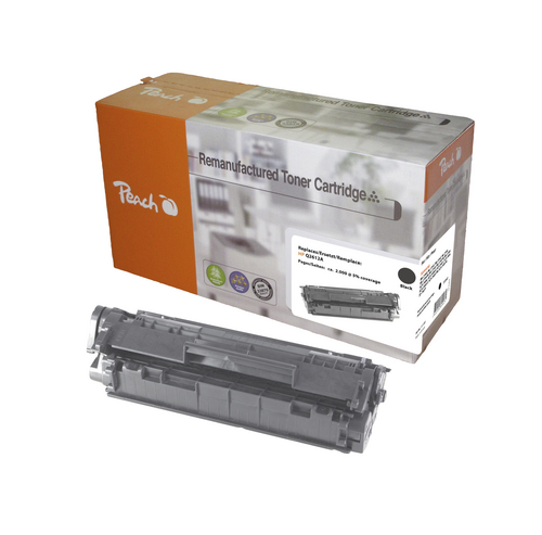 Peach per HP Q2612A nero Toner compatibile