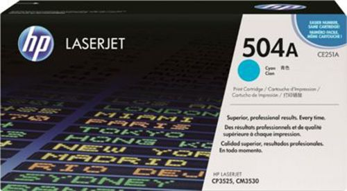 HP CE251A, Toner cyan 7'000 pages