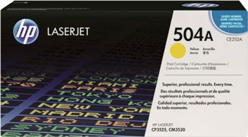 HP CE252A, Toner jaune 7'000 pages