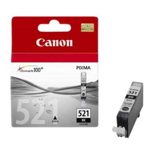 Canon CLI-521BK, Cartouche d'encre noir, 19 ml