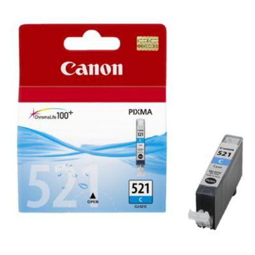 Canon CLI-521C, Cartuccia d'inchiostro cyan, 19 ml