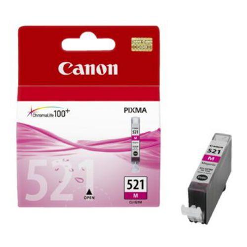 Canon CLI-521M, Cartouche d'encre magenta, 19 ml