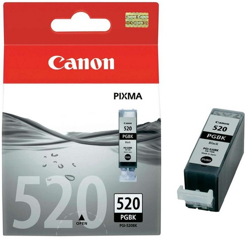 Canon PGI-520BK, TPA schwarz, 19ml