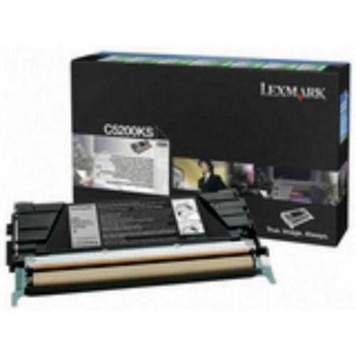 Lexmark C5200KS, Toner schwarz, 1'500