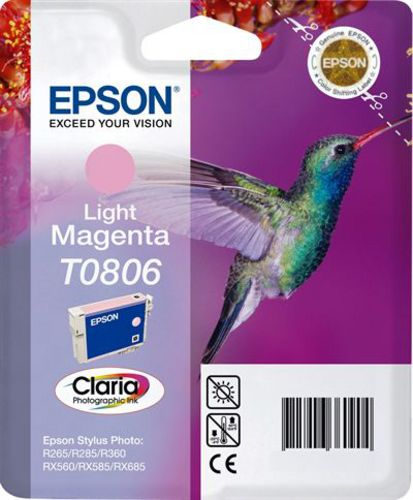 Epson T0806, TPA light magenta, 7.4ml
