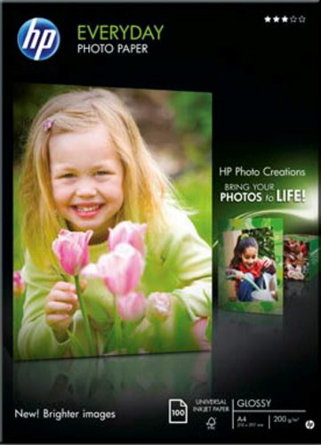 100 A4 Photo Paper 200g/m2, glossy