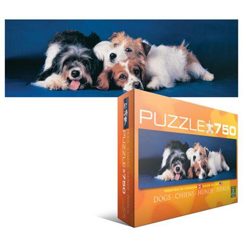 hunde panorama puzzle 750 teile g nstig kaufen puzzles media markt online shop. Black Bedroom Furniture Sets. Home Design Ideas