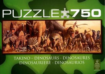Dinosauro - Panorama Puzzle [750 pezzi]