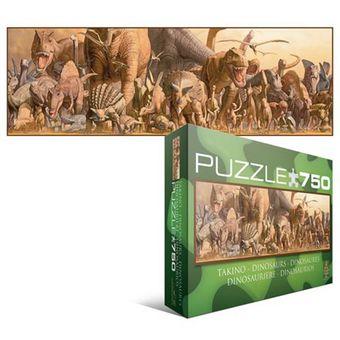 Dinosaurier - Panorama Puzzle [750 Teile]