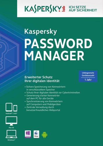 Kaspersky Password Manager [unbegrenzte Lizenzen]