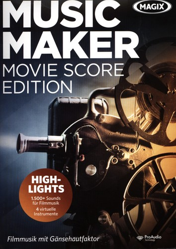MAGIX Music Maker Movie Score Edition 6