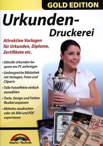 Gold Edition: Urkunden-Druckerei